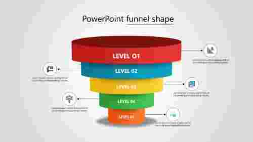 Best powerpoint funnel shape